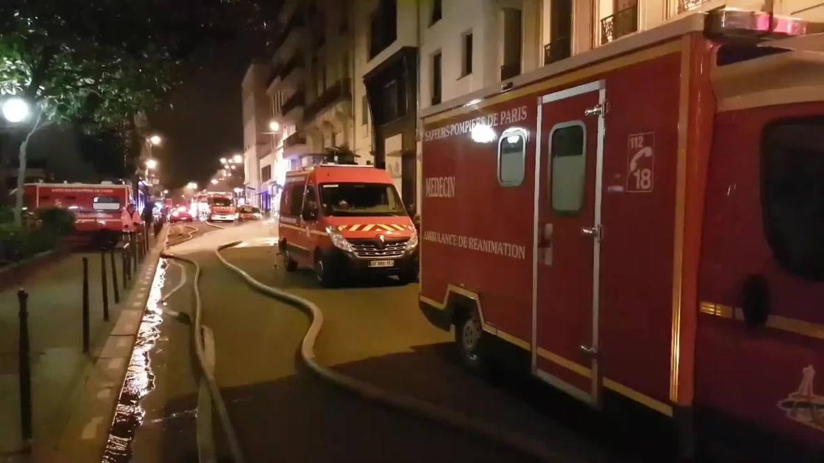France: Seven dead after fire engulfs building in Paris