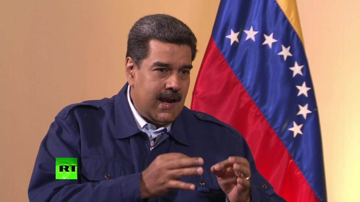 Venezuela: 'Guaido is opposition's tool' – Maduro *EXCLUSIVE* *PARTNER CONTENT*
