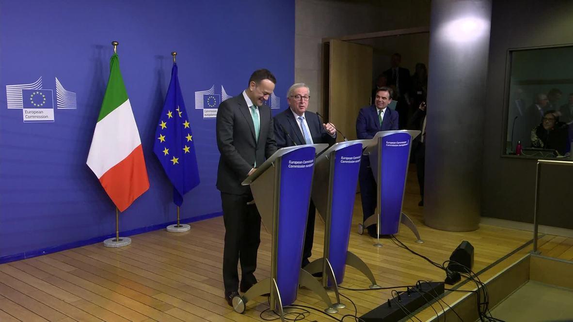 Belgium: 'My job here, it's hell' - Juncker berates battle over Brexit
