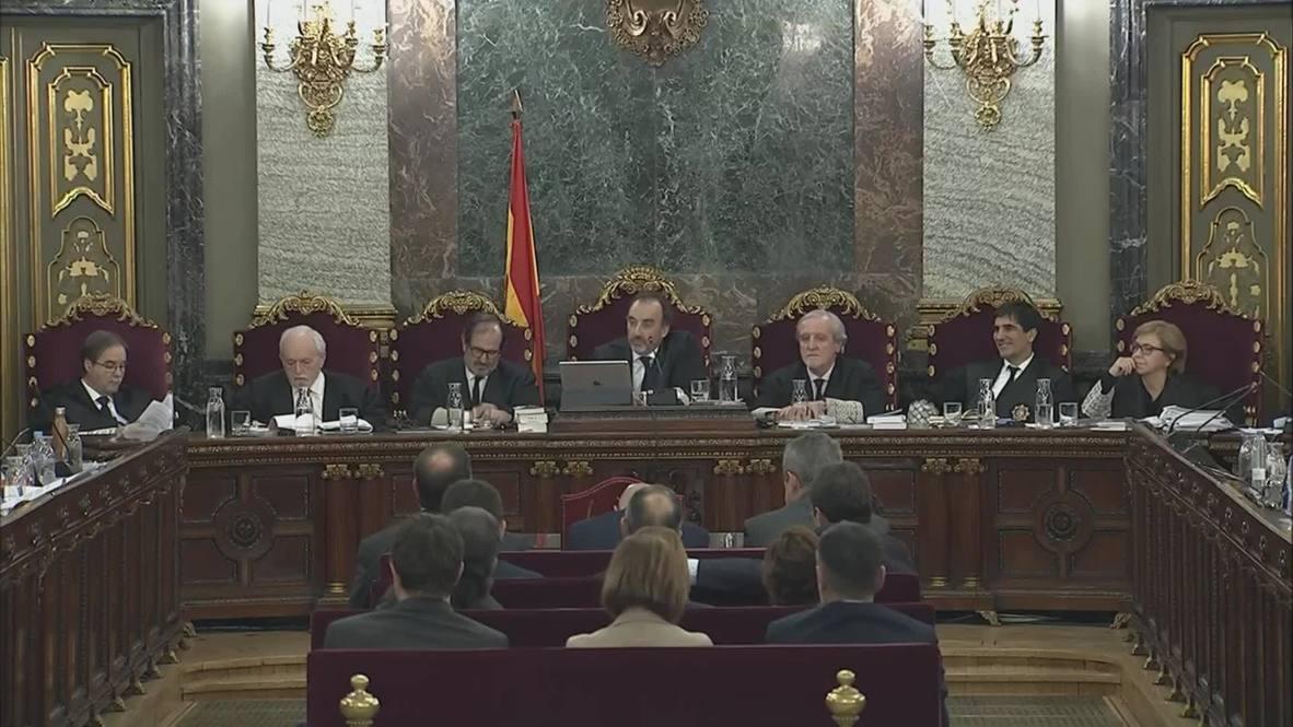 España: Comienza el juicio a 12 líderes separatistas catalanes