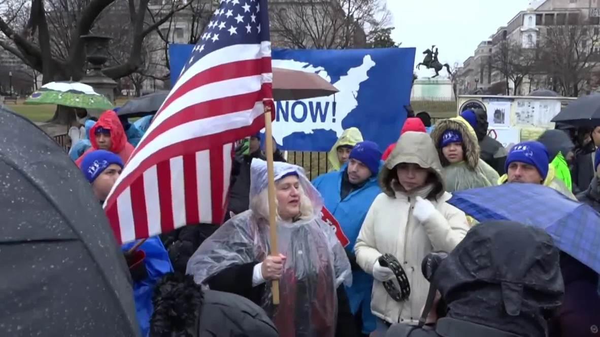 EE.UU.: Miles de personas marchan por los derechos de los inmigrantes en Washington D.C.