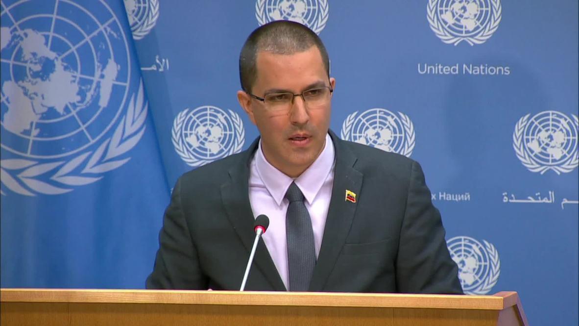 UN: No humanitarian crisis in Venezuela, but an economy facing blockade – Venezuelan FM