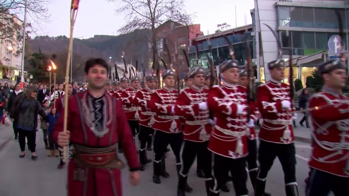 Bulgaria: Thousands march to commemorate anti-Ottoman revolutionary