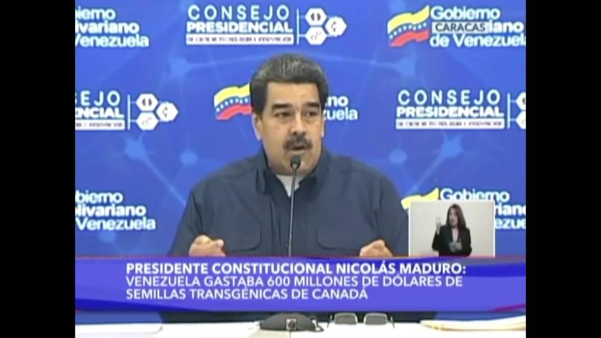 """Venezuela: Maduro acusa a Trump de """"un discurso al estilo nazi"""""""