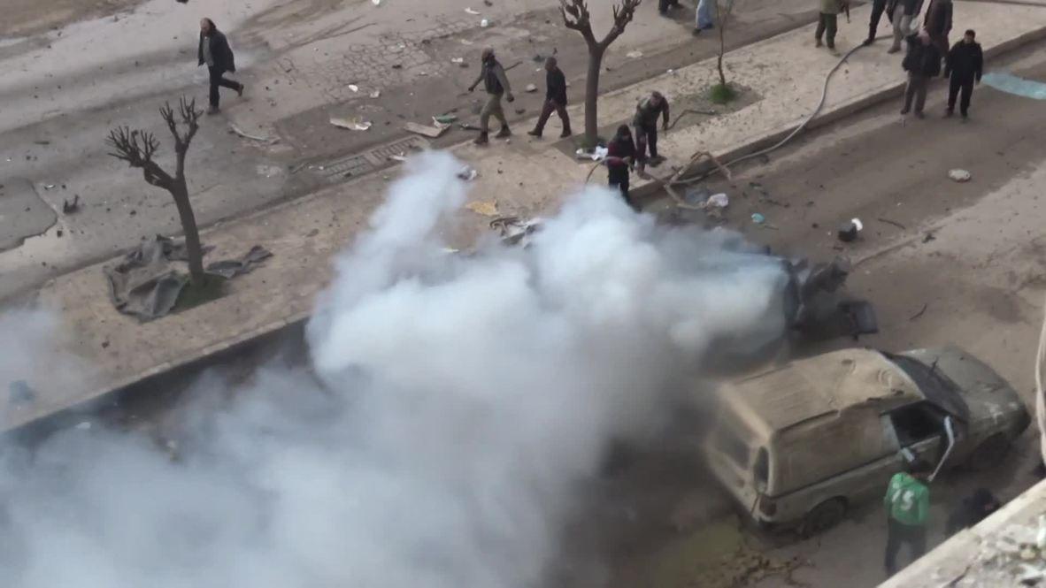 Siria: Explosión de coche bomba en Afrin
