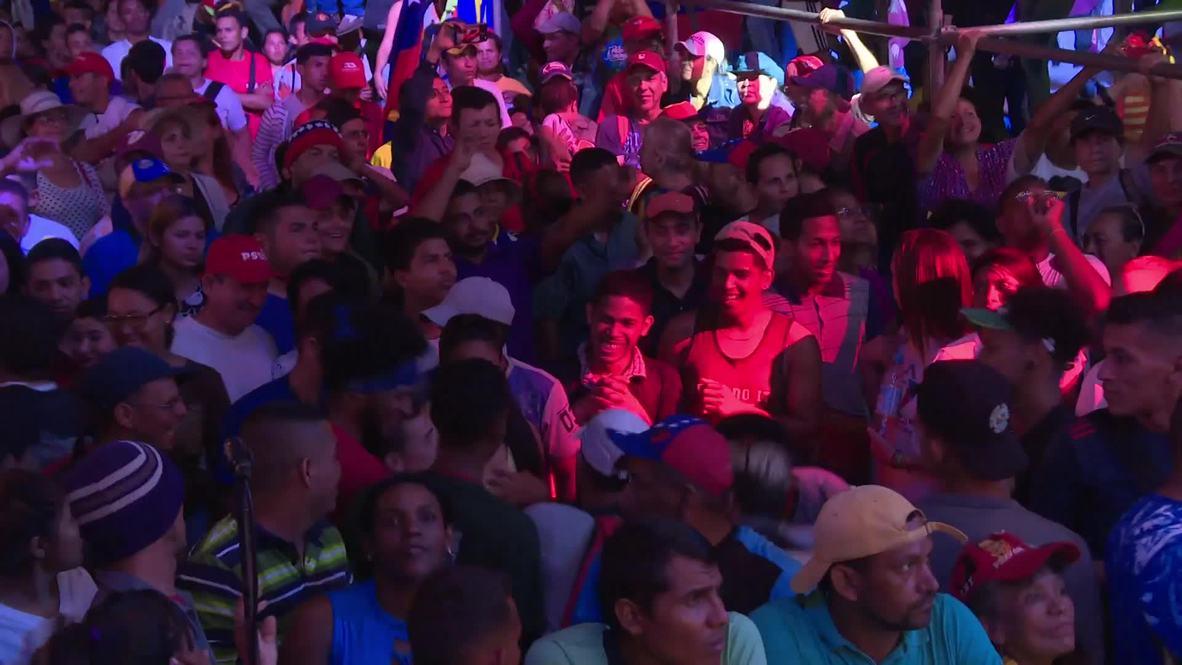 """Venezuela: Se realiza el concierto """"Manos fuera de Venezuela"""" en el lado venezolano de la frontera"""