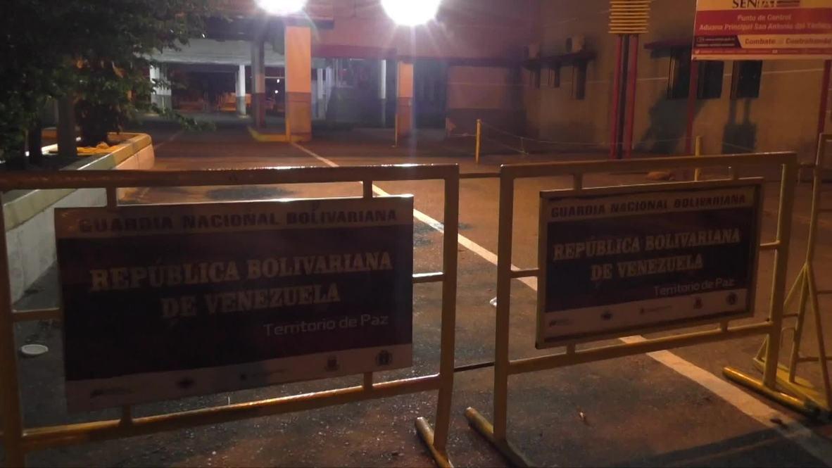 Venezuela: Caracas cierra puentes fronterizos con Colombia ante 'amenazas'