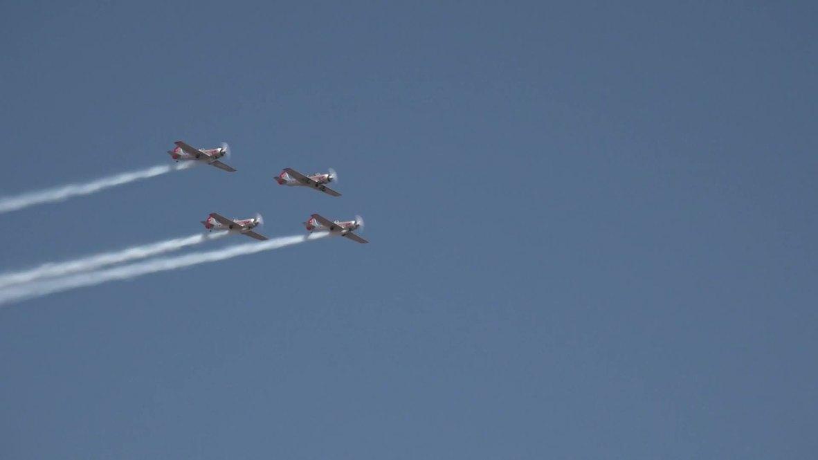 India: Female pilots showcase their skills at Aero India 2019