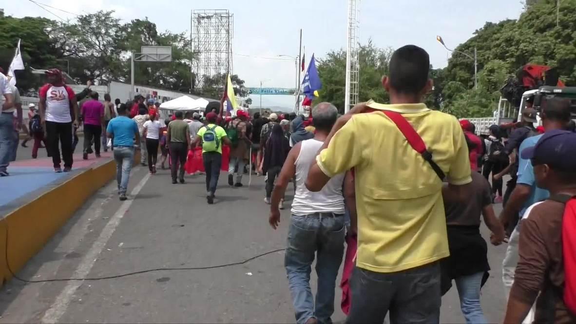 Venezuela: Assembly President Diosdado Cabello 'hoping for peace' at Tachira border