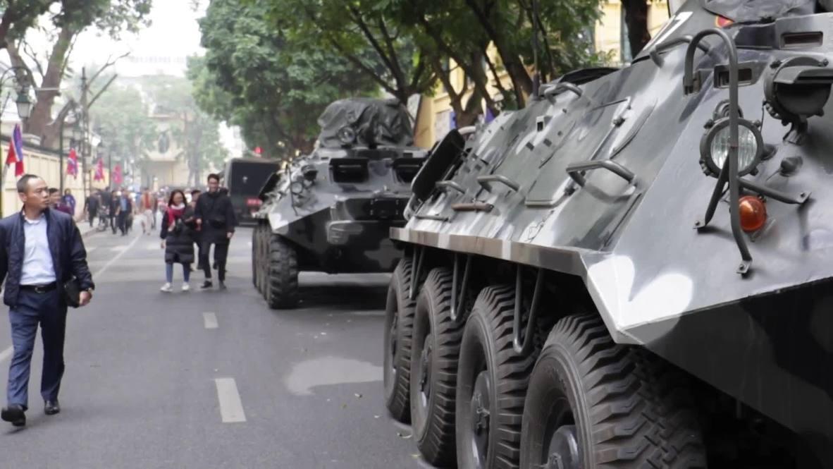 Vietnam: Aumentan las medidas de seguridad en Hanoi antes de la cumbre de Trump-Kim