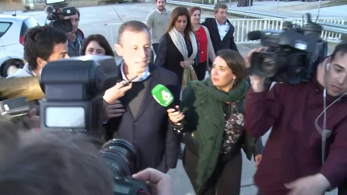 Spain: Former FC Barcelona president Rosell released from prison pending trial