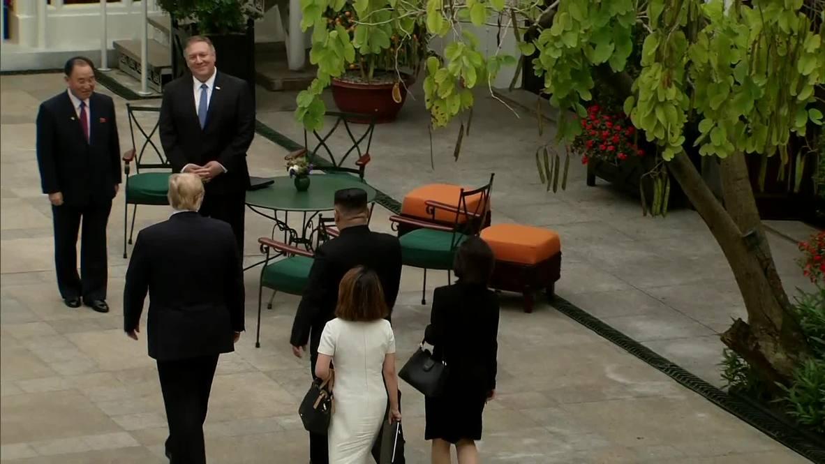 Vietnam: Pompeo seen joining Trump and Kim at Hanoi summit