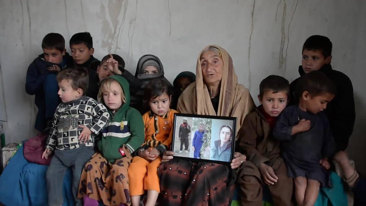 Афганистан: 70-летняя женщина не знает, как прокормить 17 внуков