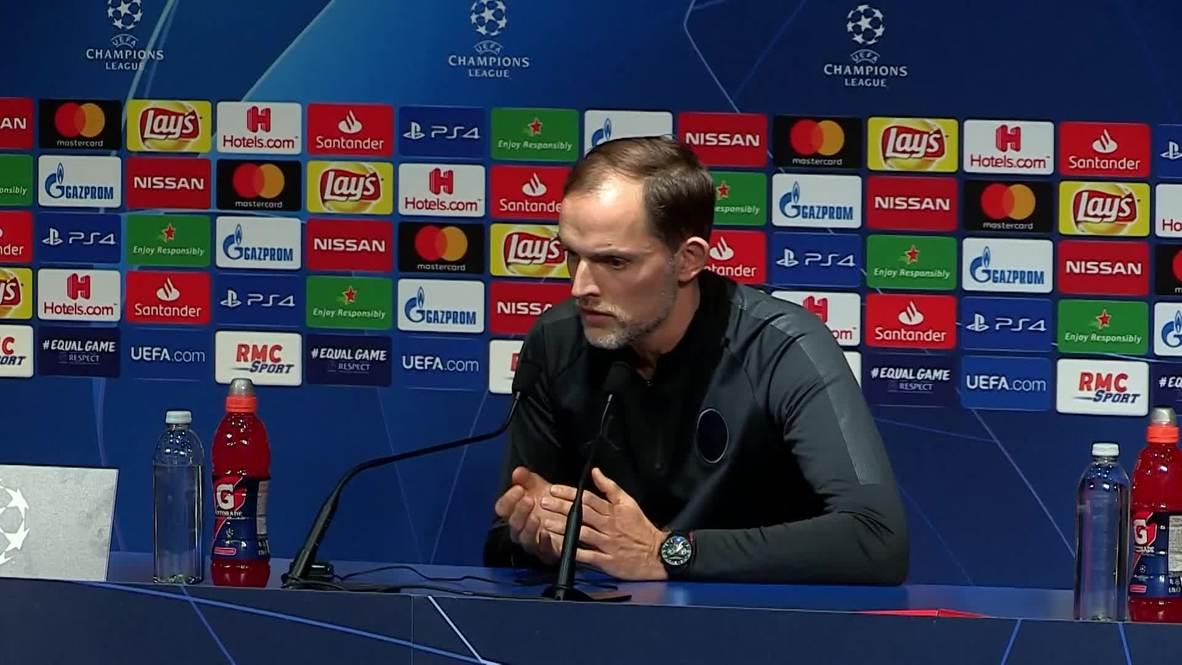France: Confidence is key against Man Utd - PSG boss