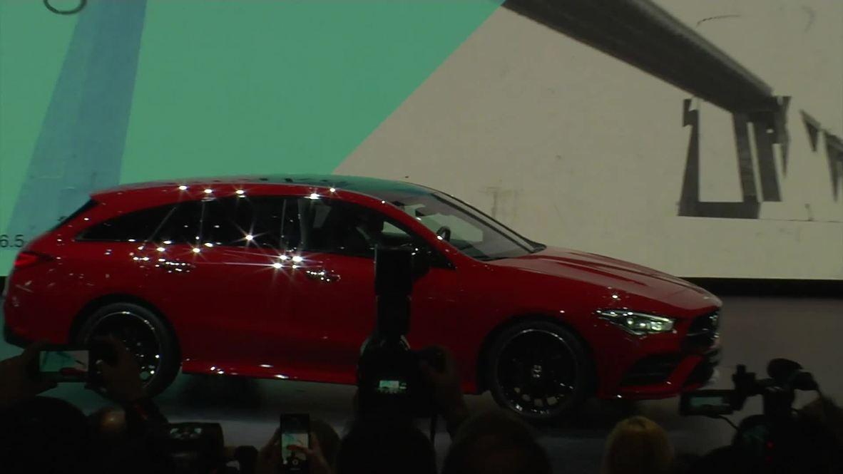 Mercedes-Benz presenta nuevos modelos en el Salón de Ginebra 2019