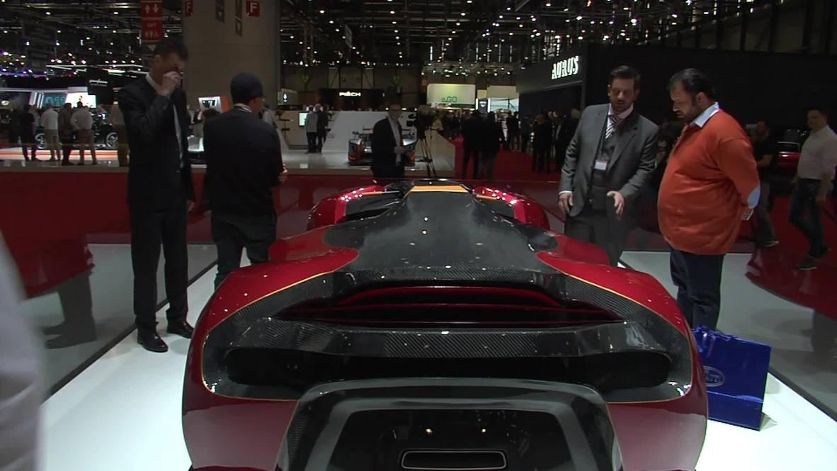 Switzerland: Superquad and SUV concept turn heads at Geneva Motor Show