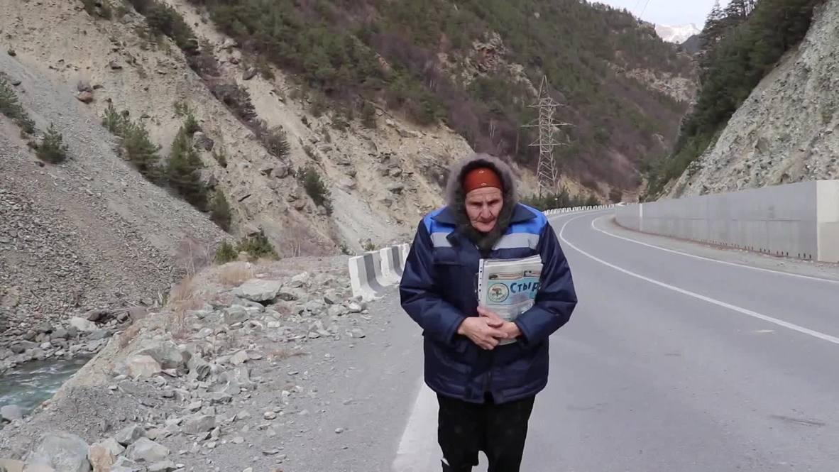 Pushing the envelope! Meet the 83-yo postwoman with a 48km route!