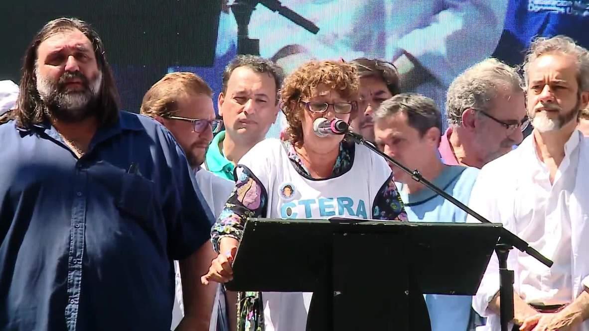 Argentina: School year start delayed by teachers' strike