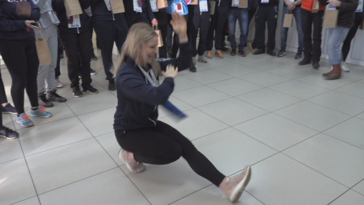 """Россия: """"Мне говорили, что в России опасно, но это не так!"""" –  шведская спортсменка на Универсиаде-2019"""