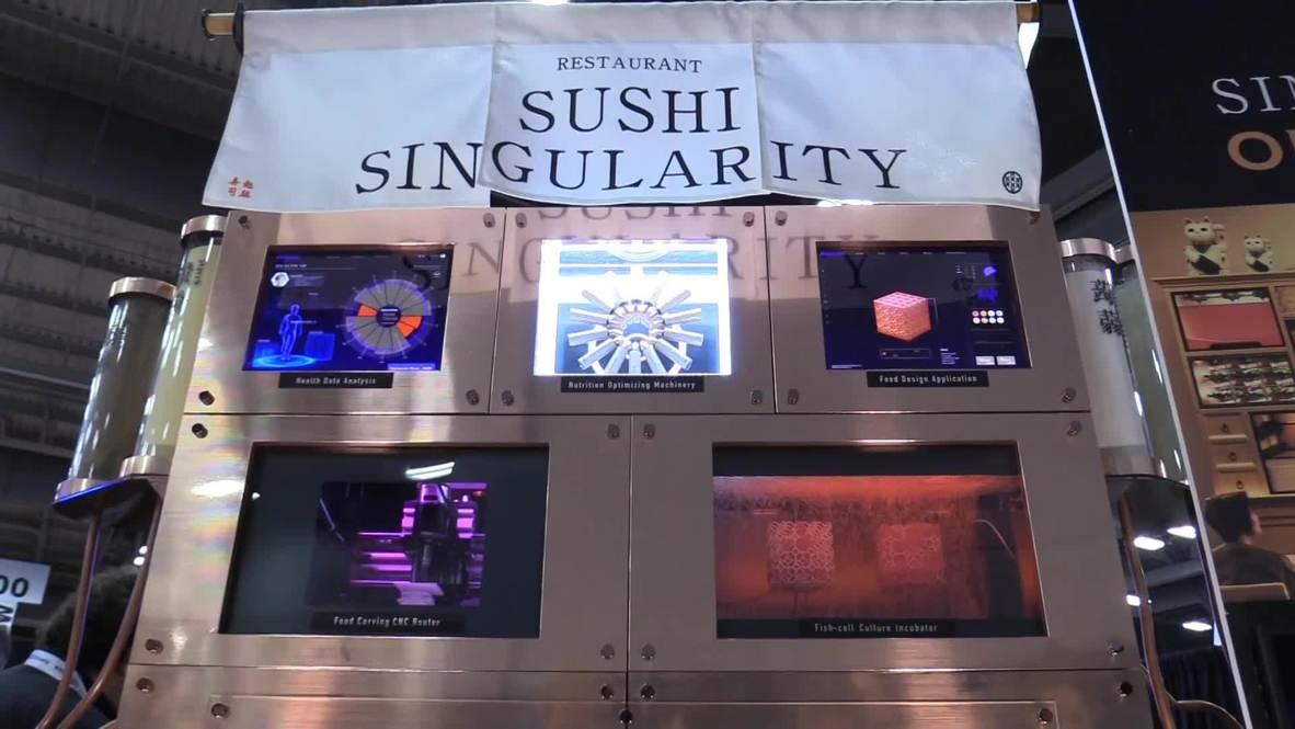 EE.UU.: Tokio presenta el sushi impreso en 3D en el SXSW