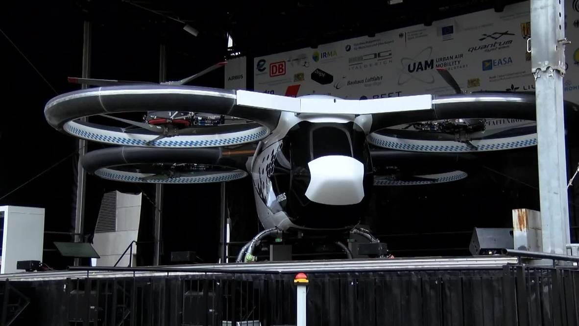 'Ya no son juegos ni ciencia ficción' - El prototipo de taxi volador hace su debut