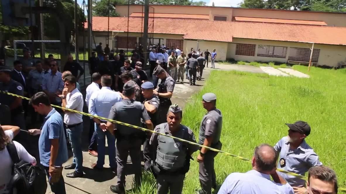 Brazil: Six children among 10 dead after school shooting near Sao Paulo