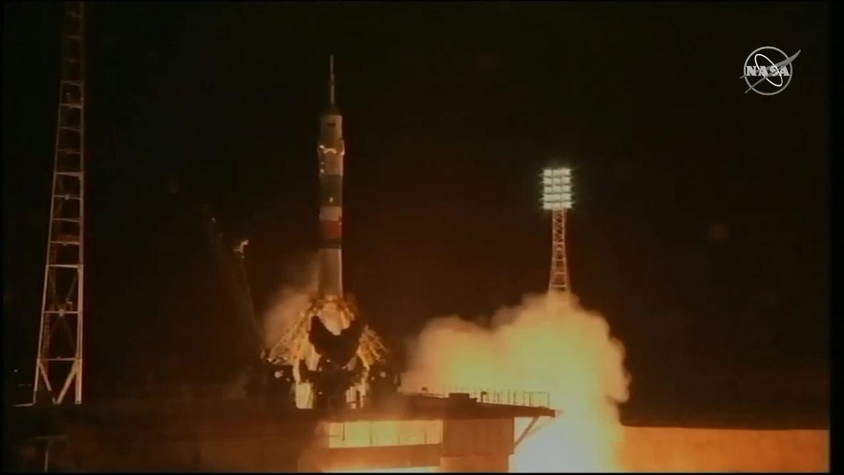 Kazajistán: La expedición 59-60 de la ISS despega del Cosmódromo de Baikonur