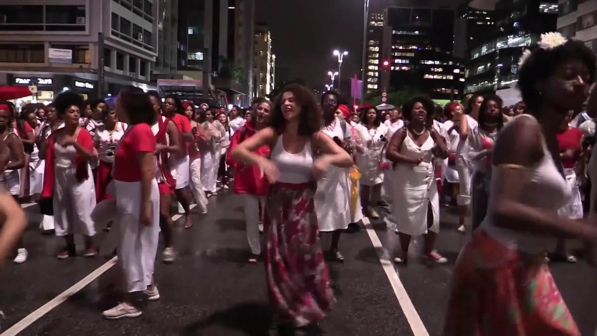 Brazil: Protesters demand answers to murder of Brazilian politician