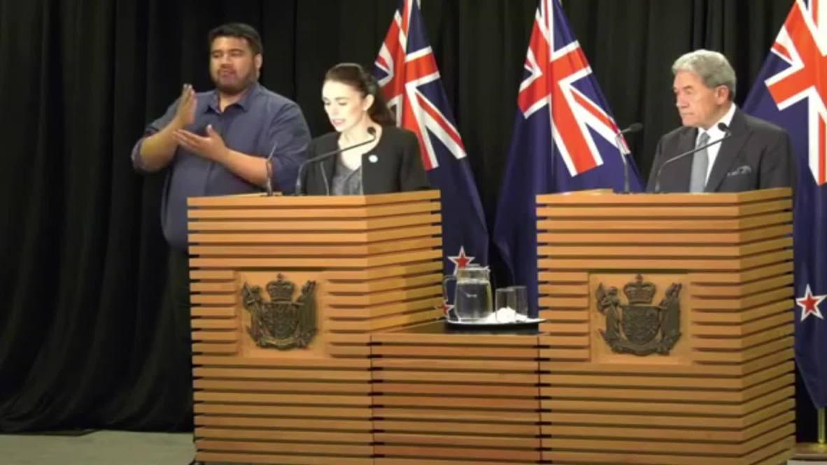 Nueva Zelanda: Ardern asegura que el gabinete está 'absolutamente unido' ante la reforma de la ley de armas