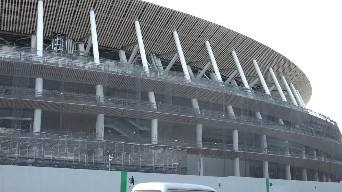 Japan: National Olympic Committee delegations visit Tokyo Games venues