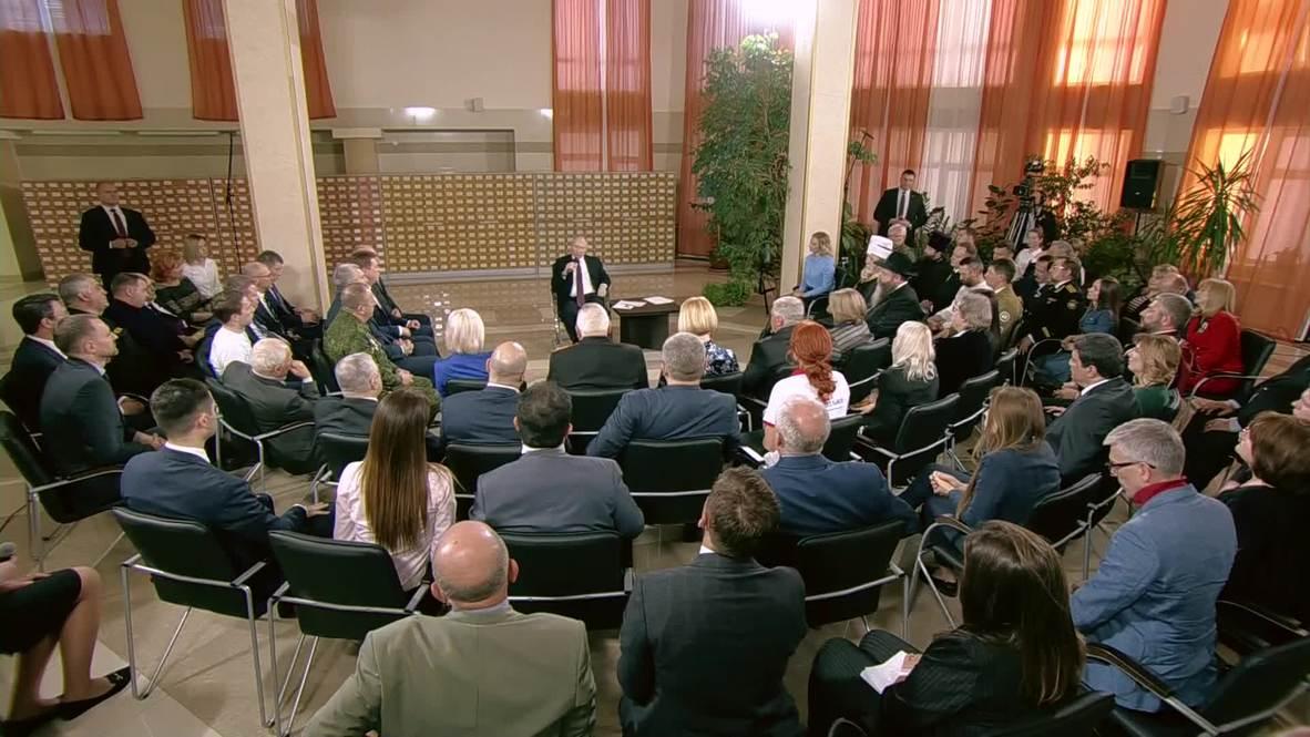 Russia: 'New milestone in history of Russia' - Putin on Crimea's reunification