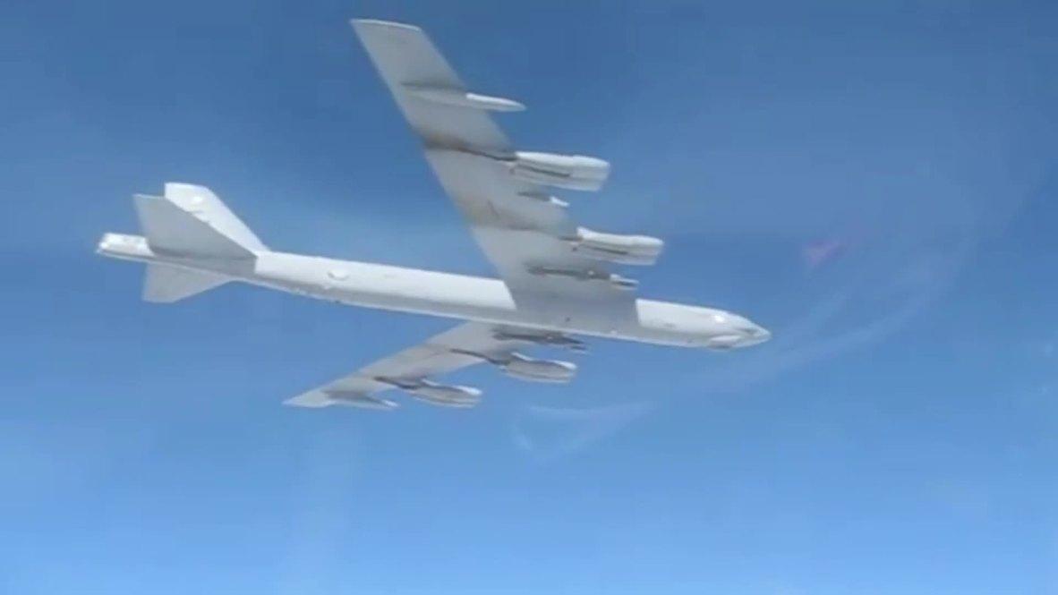 Baltic Sea: Russian fighter jets intercept US B-52H bomber