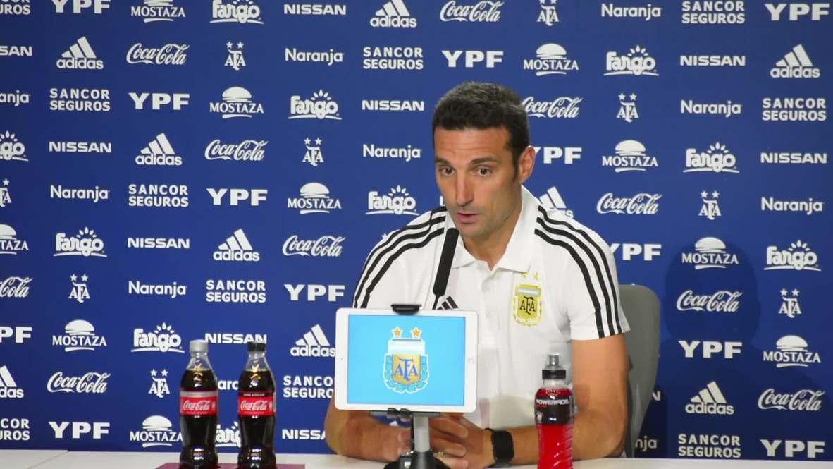 Spain: Argentina coach pleased with Messi's comeback against Venezuela