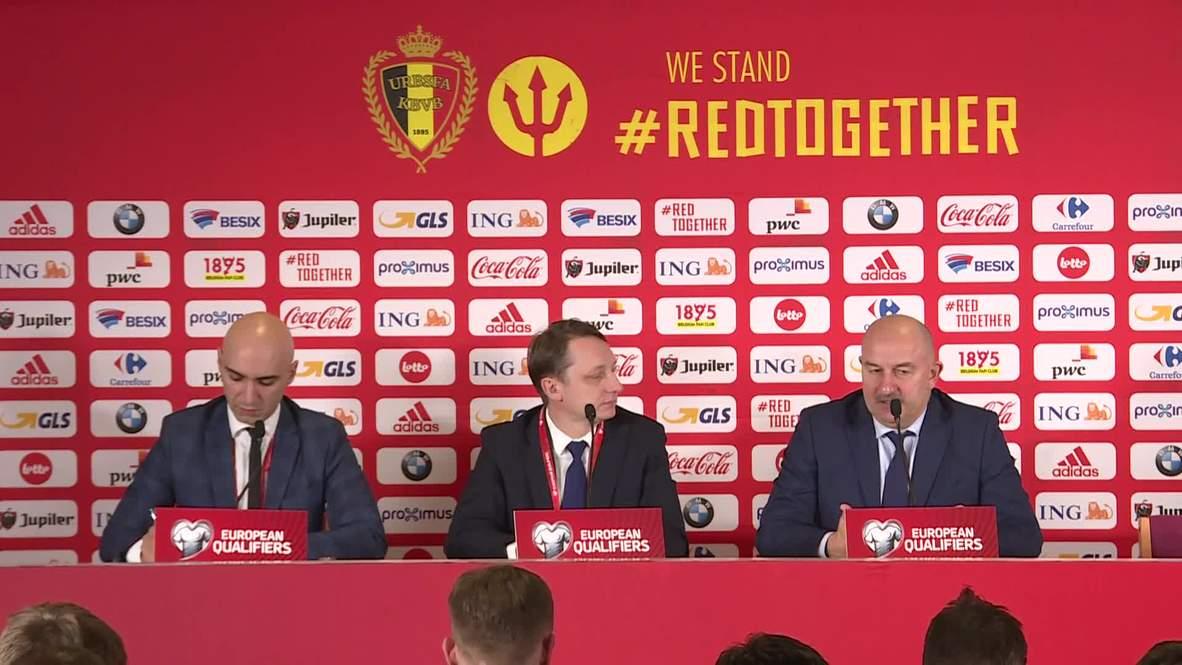 """Бельгия: """"Чтобы играть, как на ЧМ, надо, чтобы команда у меня месяц была"""" - Черчесов"""