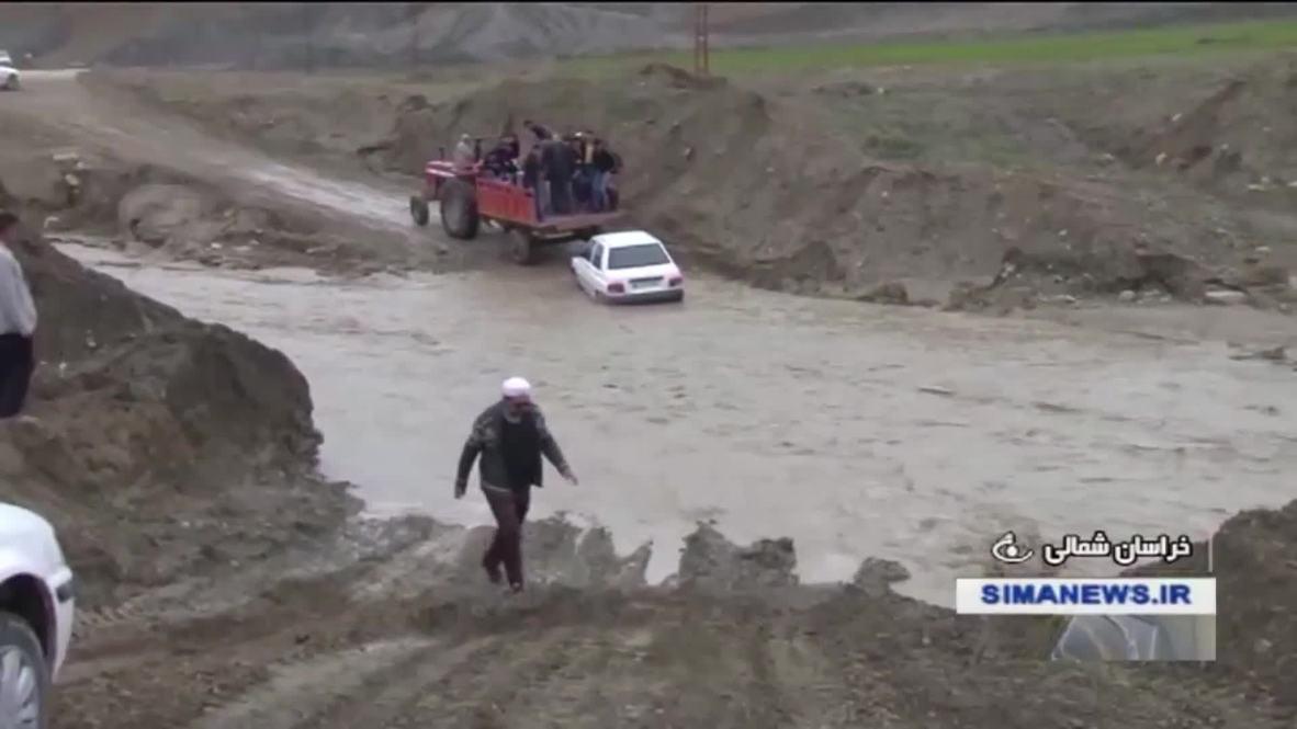 Iran: Floods cause heavy damage to northern regions along Caspian Sea