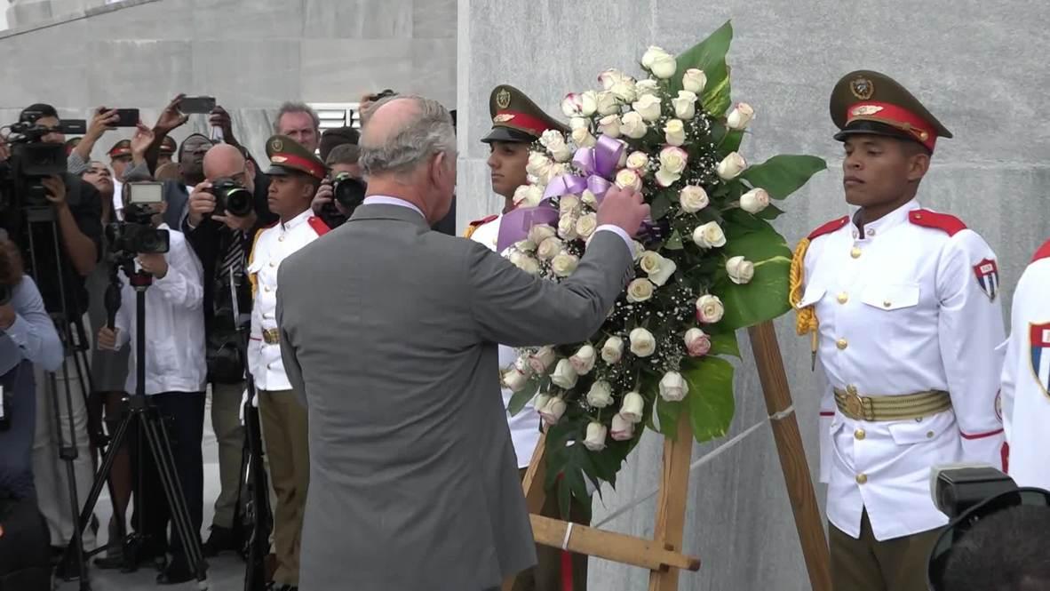 Cuba: La familia real británica realiza una histórica visita a Cuba