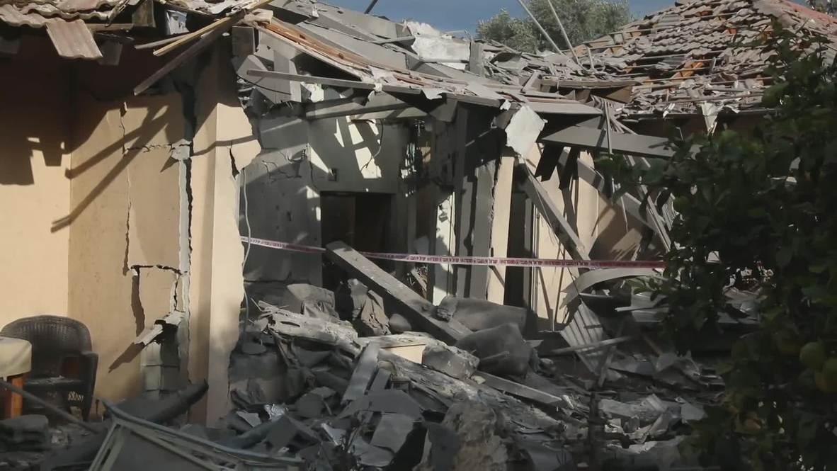 Израиль: Шесть человек были ранены в ходе ракетной атаки с территории Сектора Газа