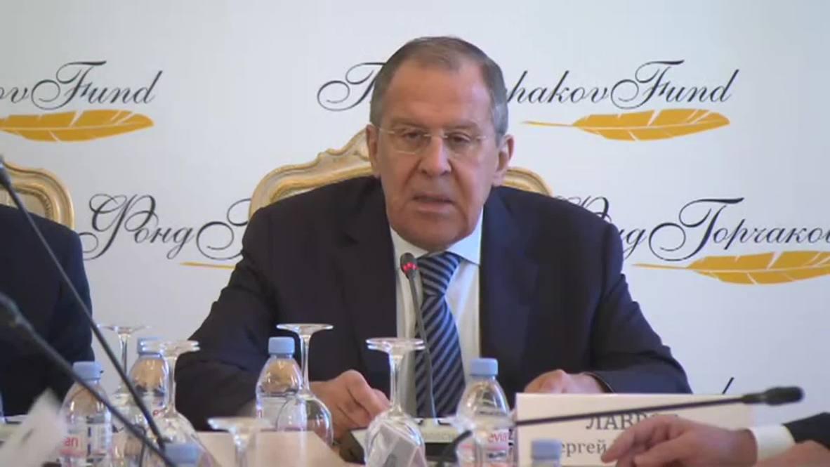 """Россия: """"Односторонние подходы США усиливают напряженность в мире"""" - Лавров"""