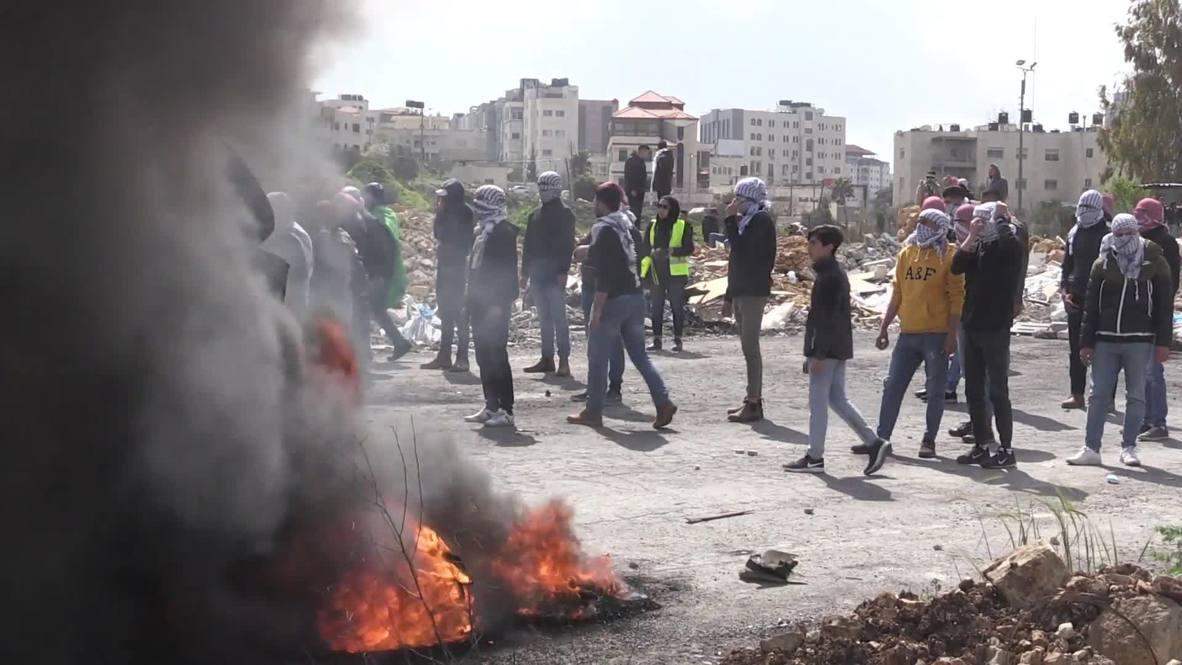 Палестина: Как минимум восемь человек ранены в результате столкновений с израильскими военными