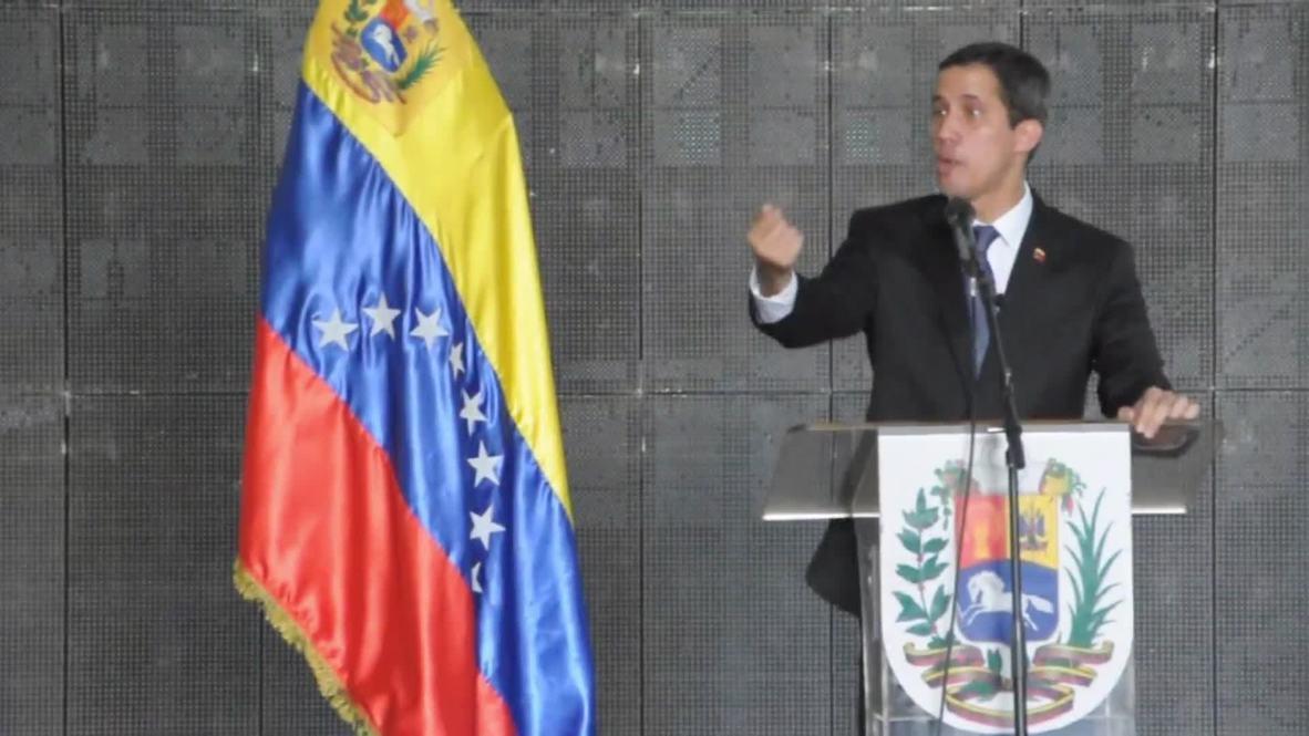 """Venezuela: Guaidó llama a manifestarse contra la """"ineficiencia"""" del Gobierno"""