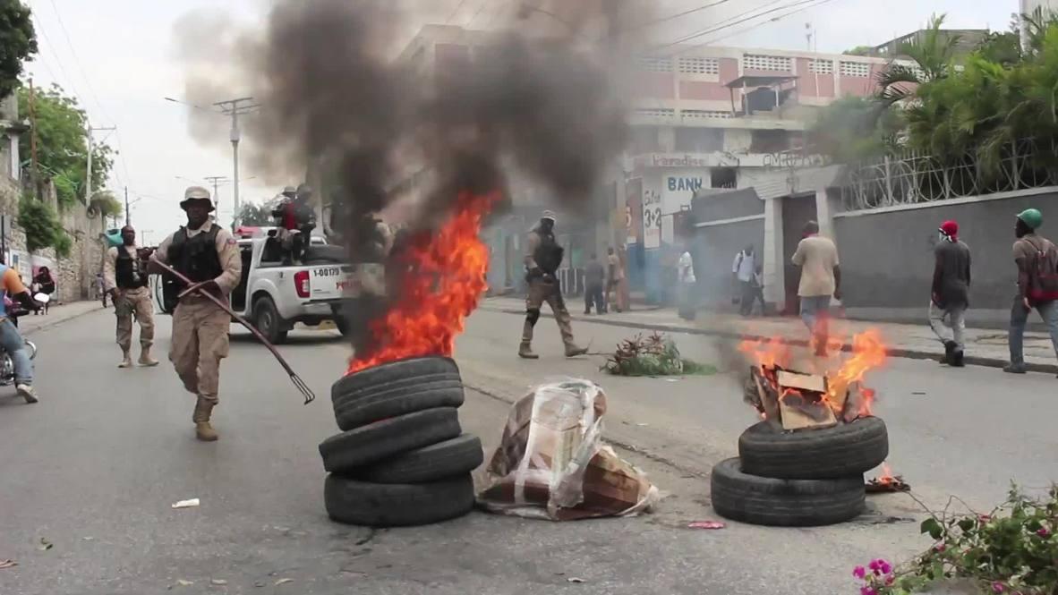 Haití: Manifestantes piden la dimisión del presidente en Puerto Príncipe