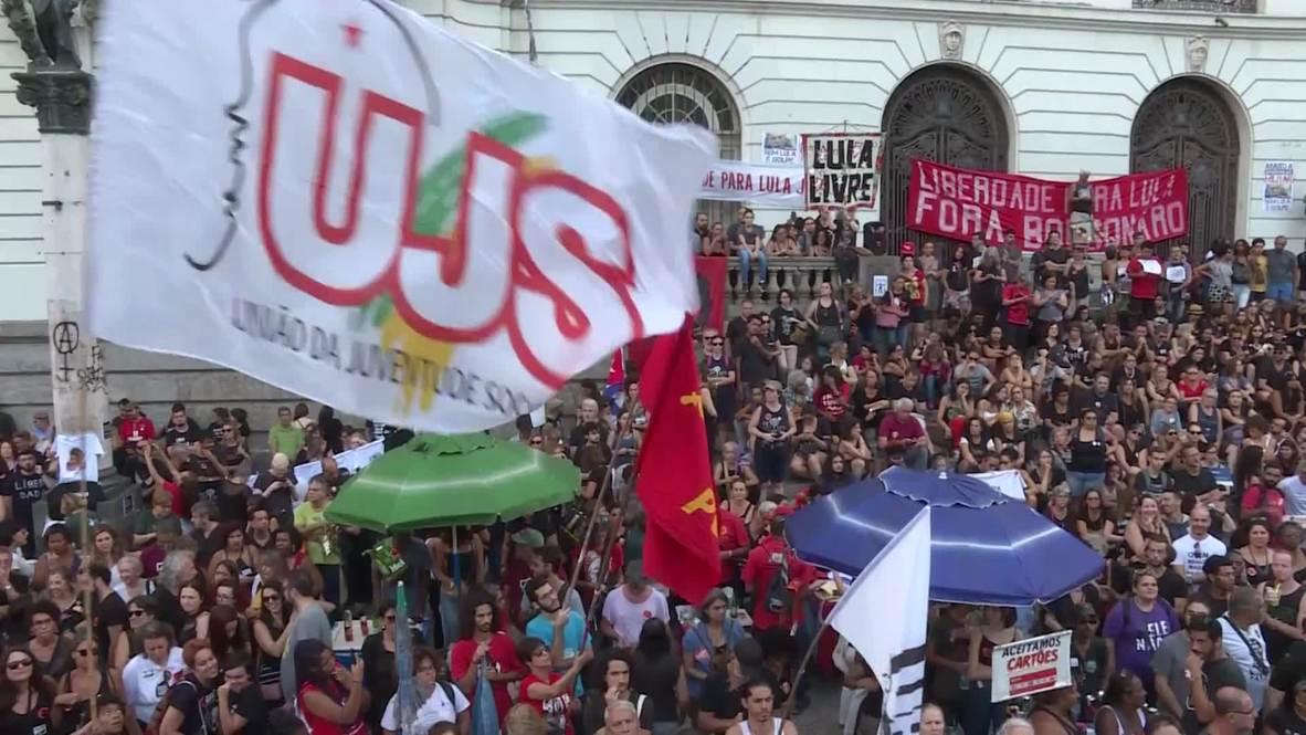Brasil: Río se rebela contra las celebraciones de Bolsonaro del golpe militar de 1964
