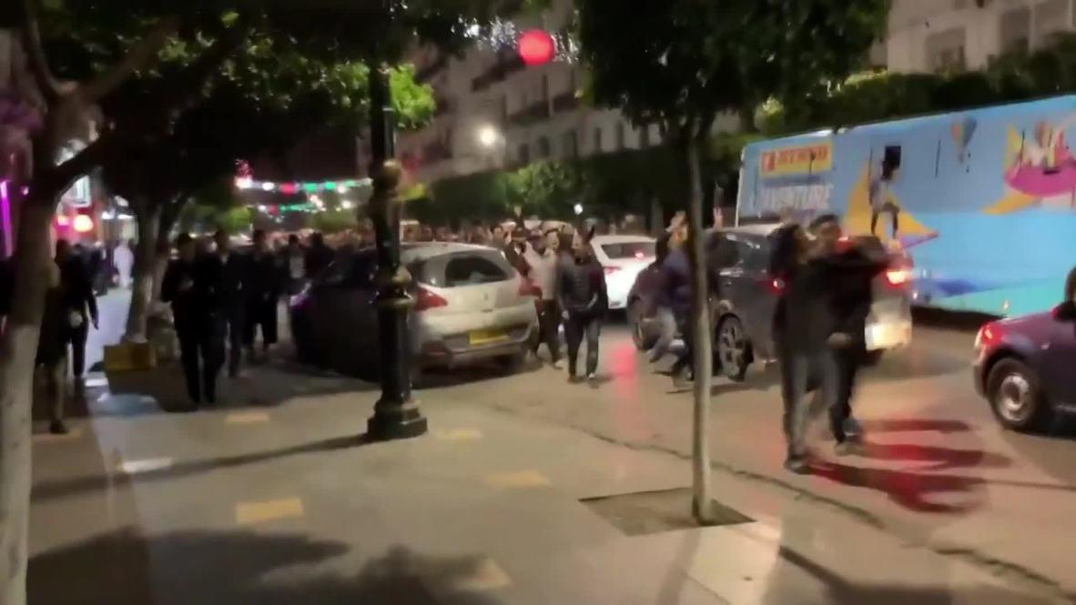Argelia: Manifestantes protestan en Argelia tras nombramiento del nuevo gobierno de Bouteflika