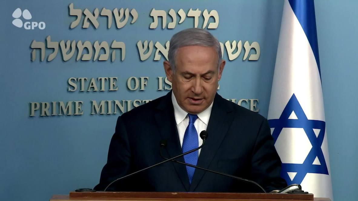 Israel: Netanyahu praises soldier's 'Zionist zeal' as remains return to Israel after 37 years