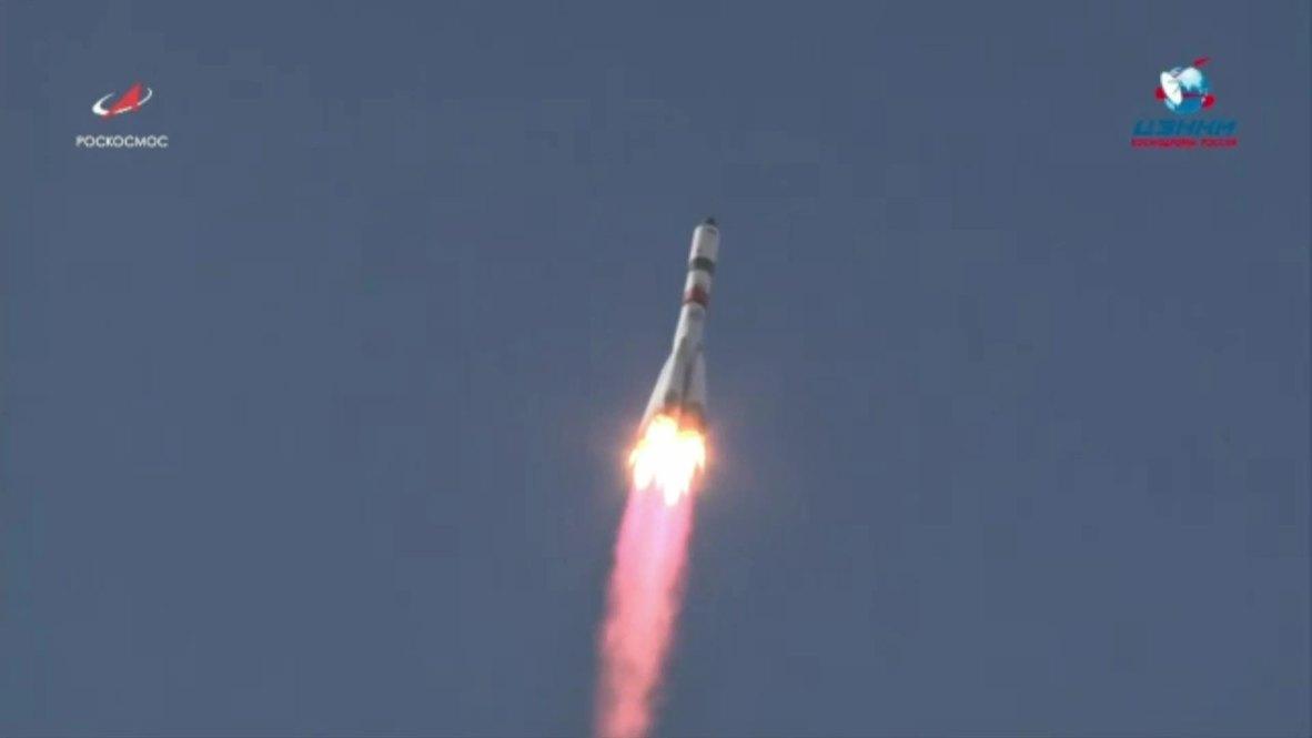 Казахстан: Ракета-носитель «Союз-2.1а» успешно стартовала с космодрома «Байконур
