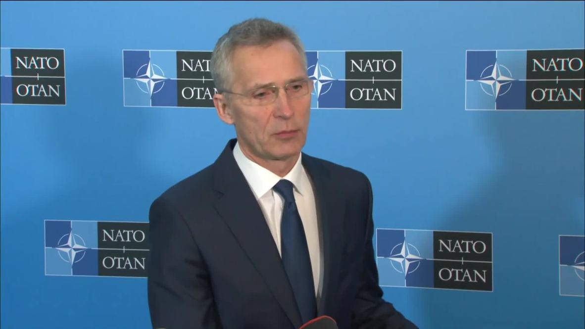 USA: NATO chief says alliance didn't make spending pledge 'to please' Washington
