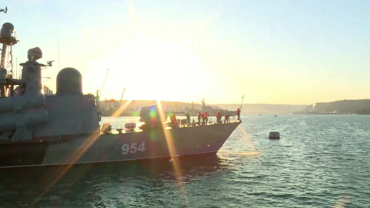 Россия: Черноморский флот проводит учения по запуску сверхзвуковых ракет «Москит»