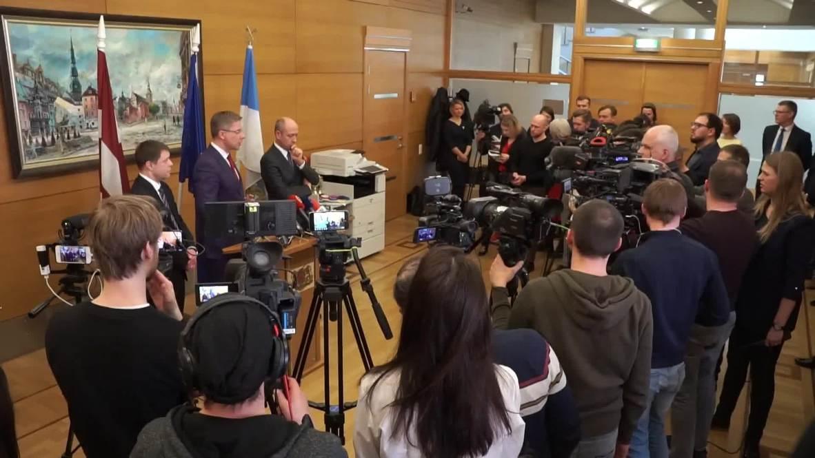 Латвия: Мэр Риги и министр прокомментировали решение об отставке
