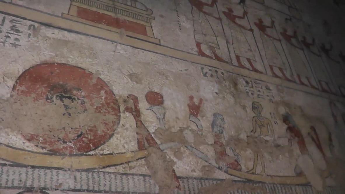 """Egipto: Arqueólogos descubren la """"Tumba de Tutu"""", de 2.000 años de antigüedad."""