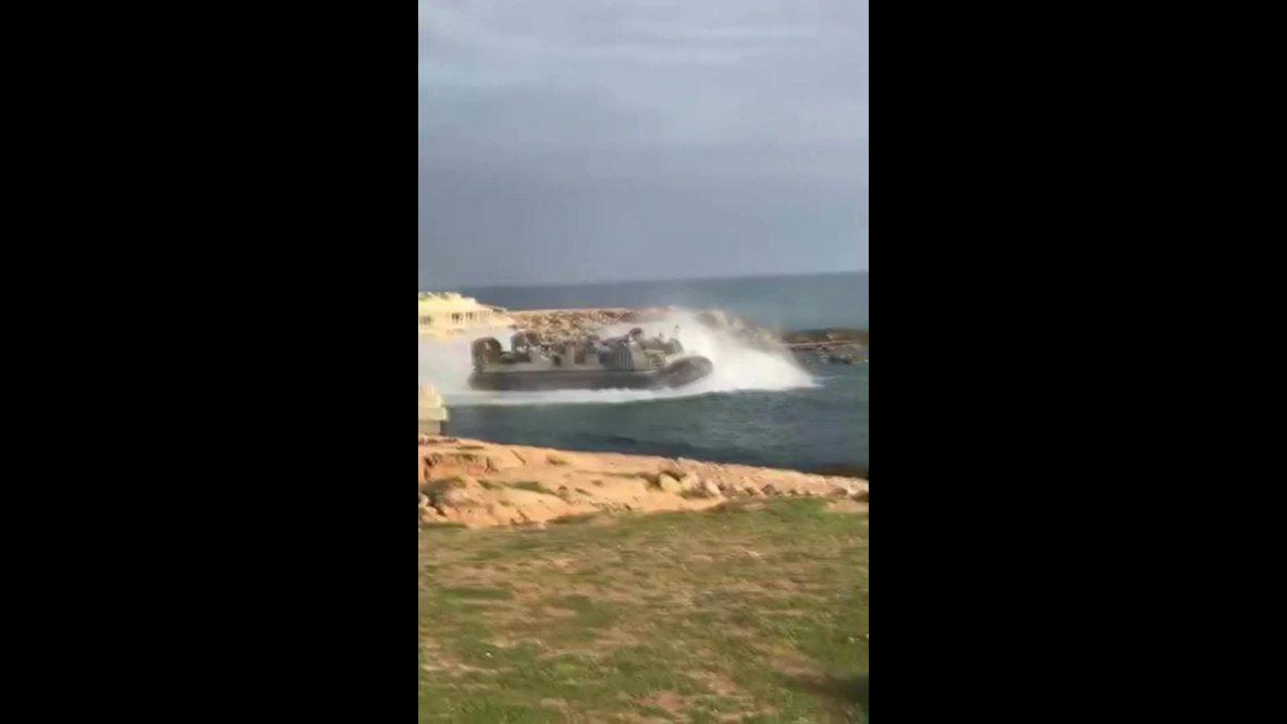 Libya: Footage emerges of US ship leaving Tripoli amid security concerns